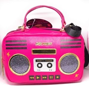 Betsey Johnson Boombox Radio Lunch Tote